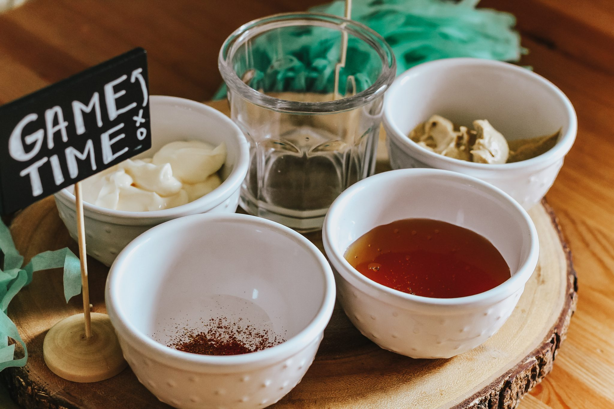 Creating a Game Day Dip Station