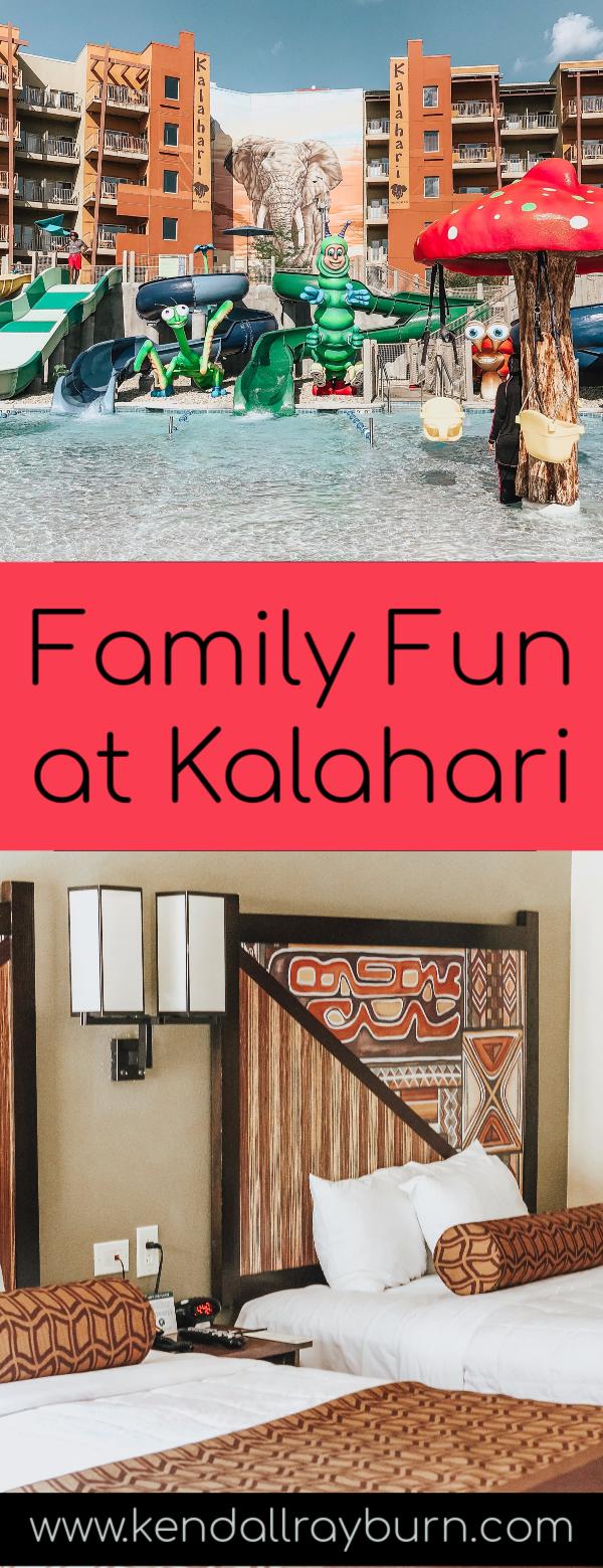 Family Fun at Kalahari in Sandusky, Ohio