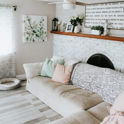 Living Room Refresh + Plans