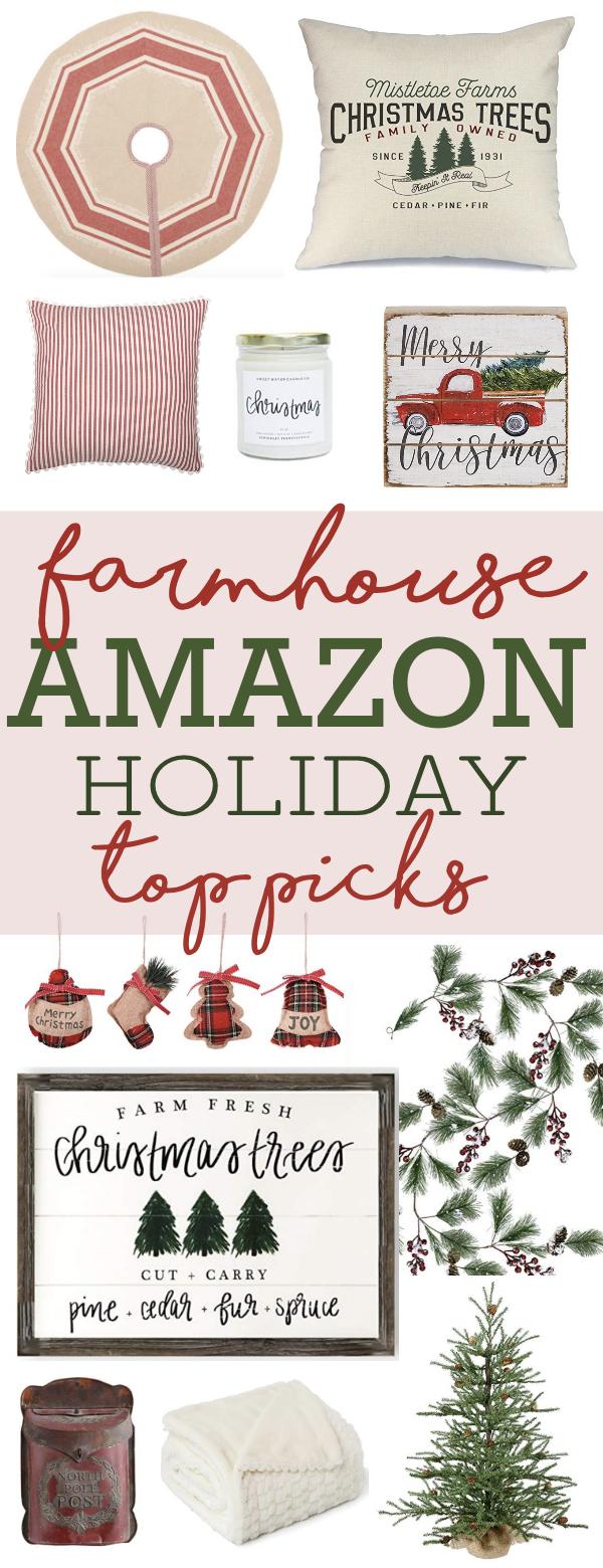 Farmhouse Amazon Holiday Top Picks
