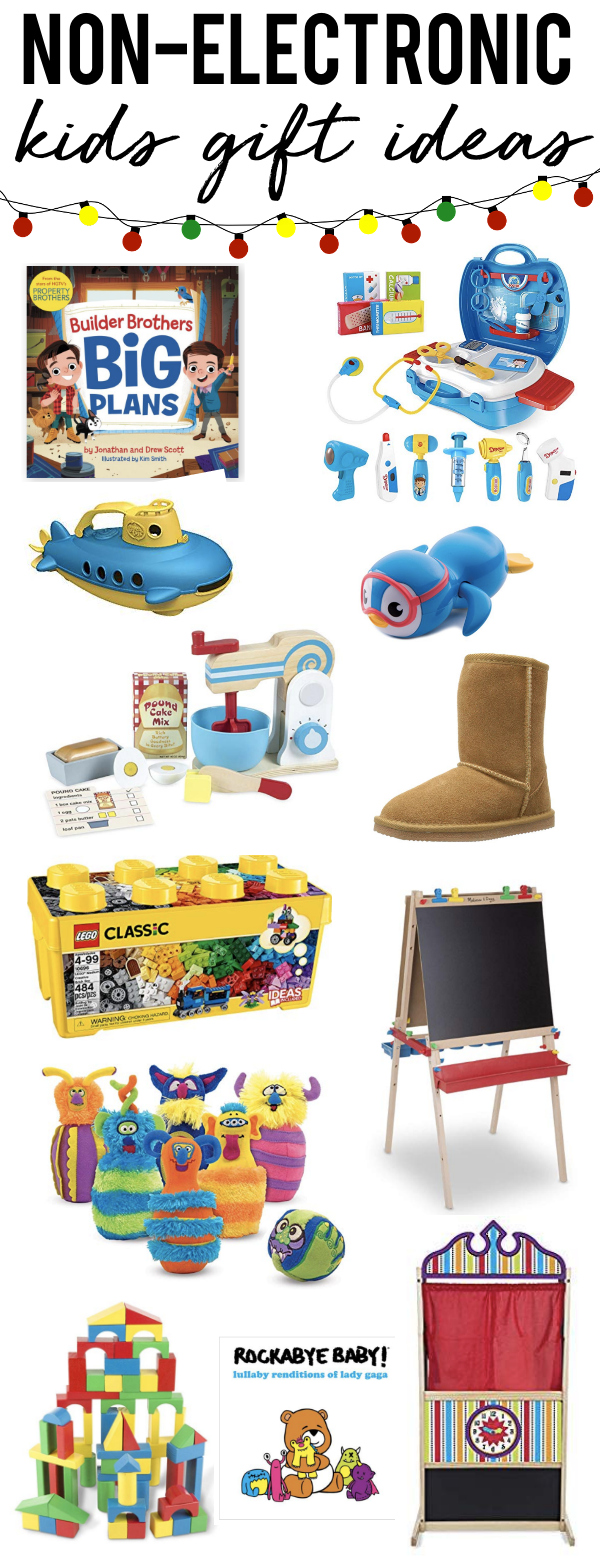 Non-Electronic Gift Ideas for Kids