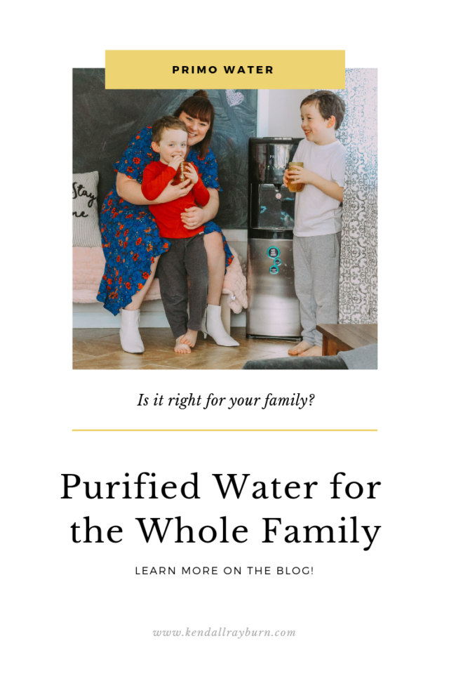 Purified Water for the Whole Family