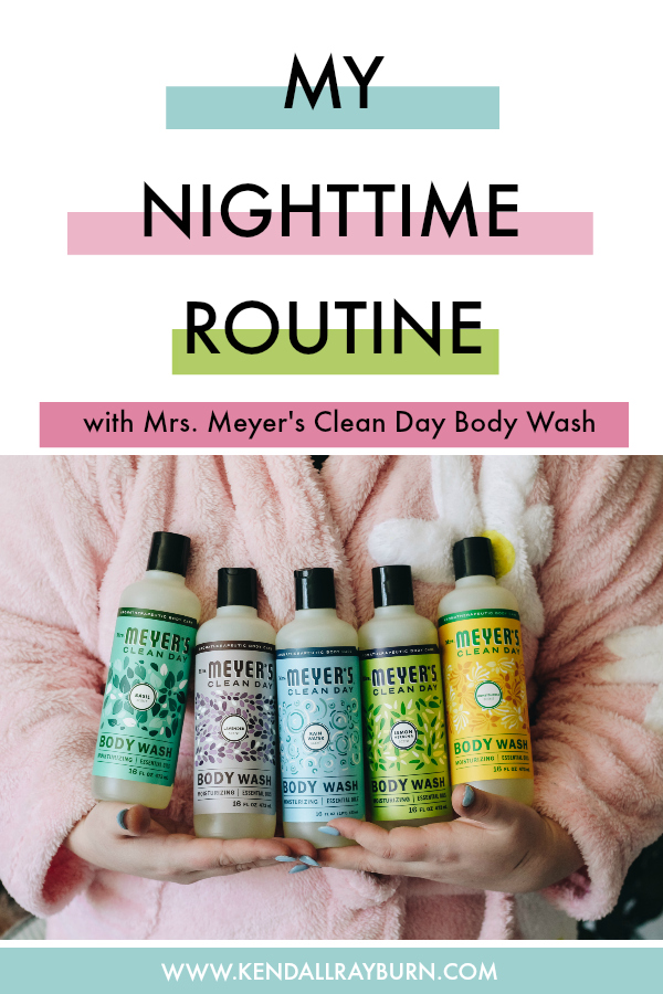 My Current Nighttime Routine