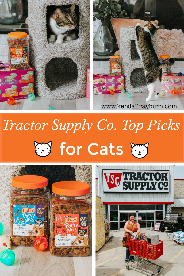 Tractor Supply Co. Top Picks for Cats