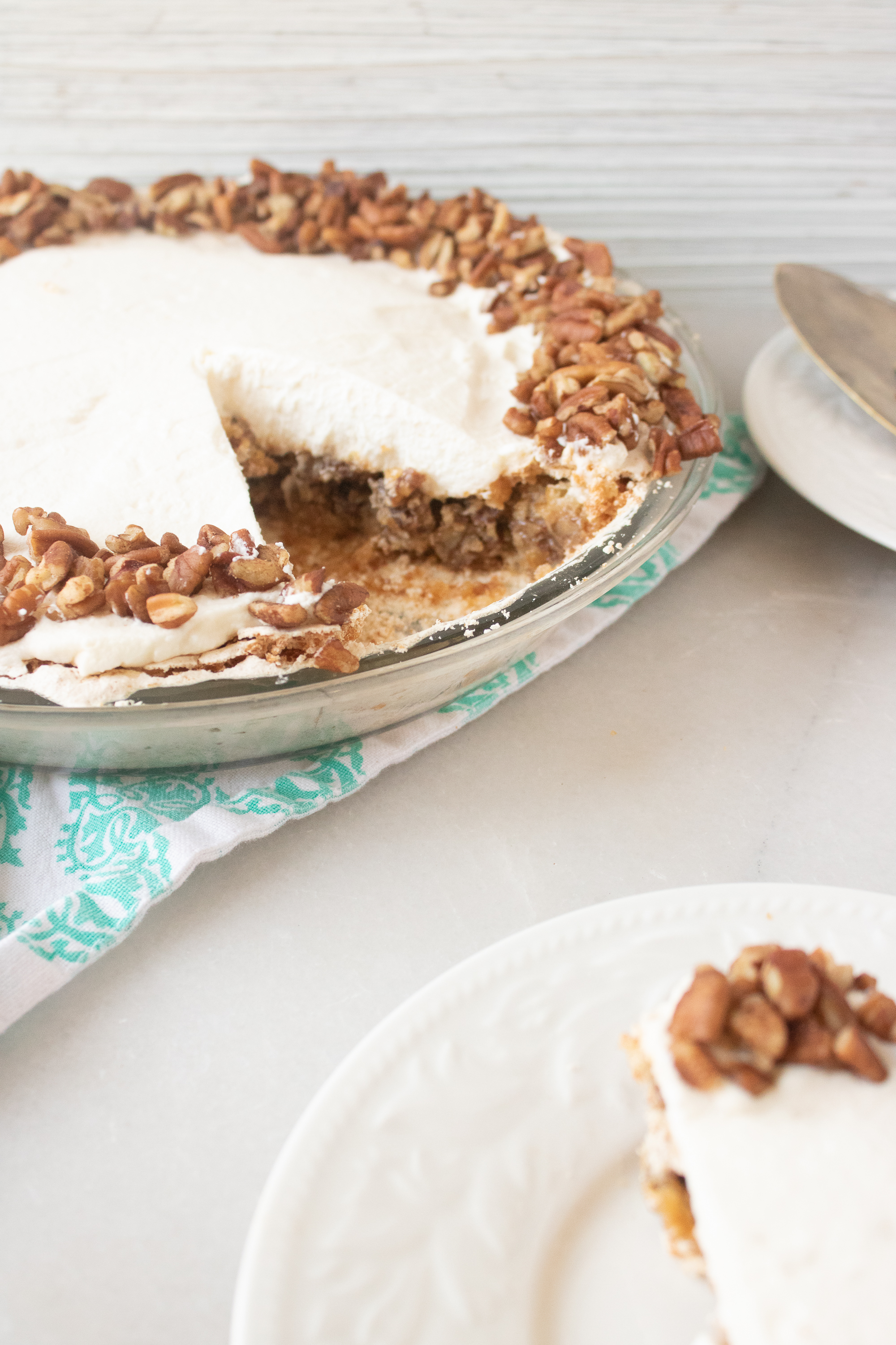 Angel Pecan Pie