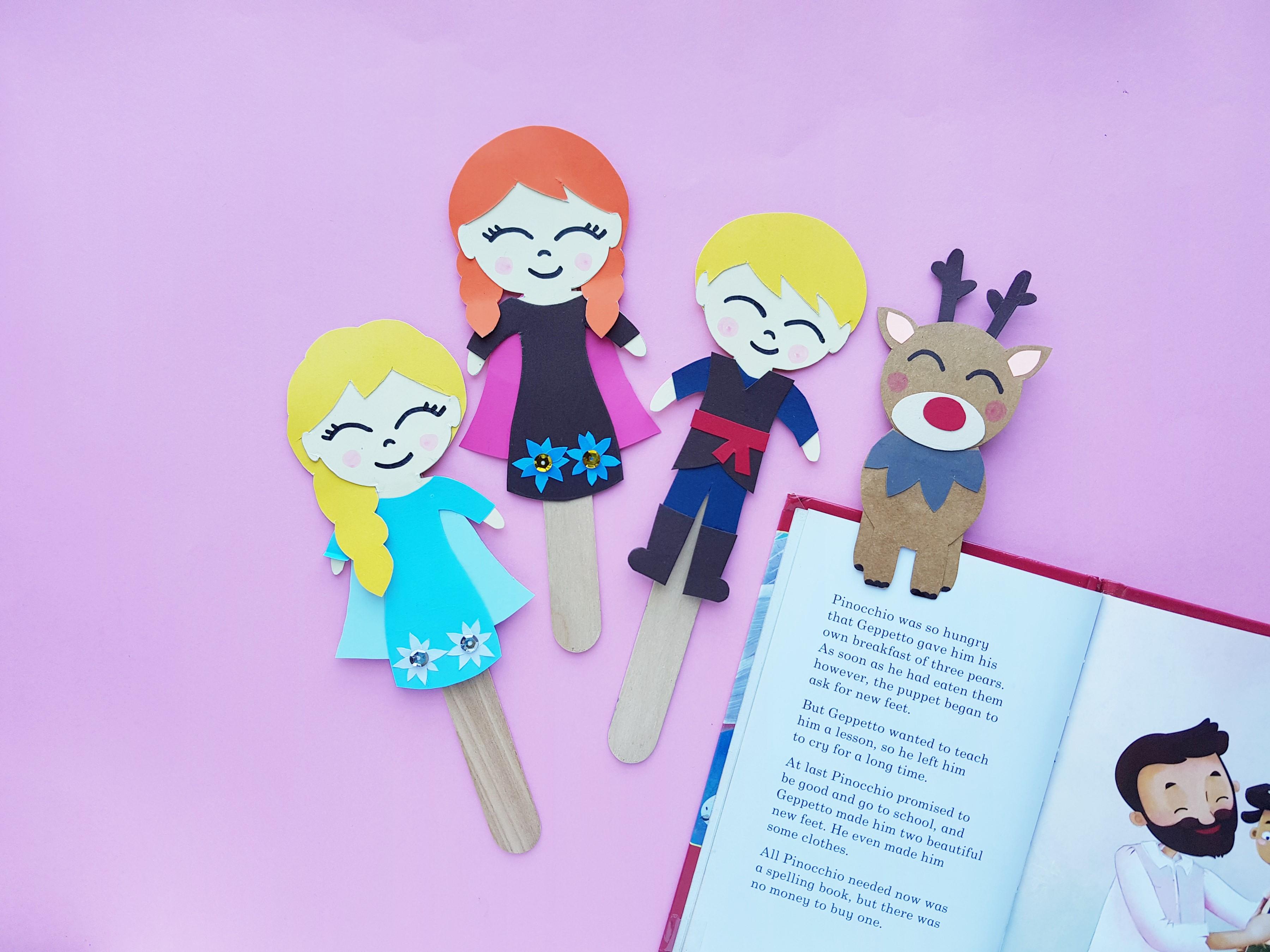 DIY Frozen 2 Bookmarks