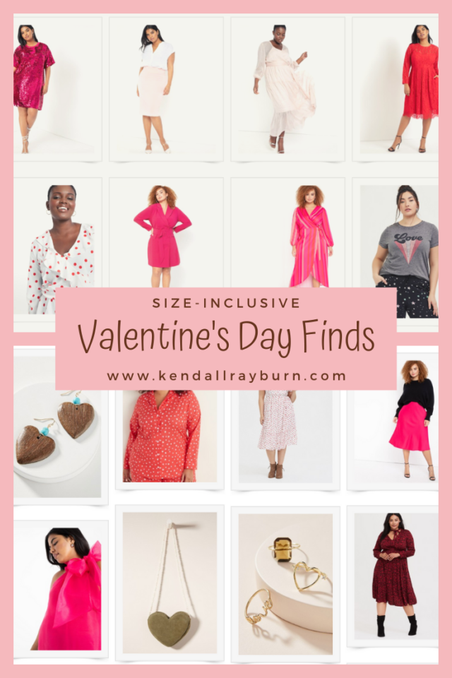 Size-Inclusive Valentine's Day Finds