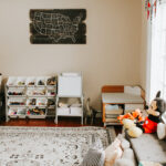 Budget-Friendly Playroom Organization