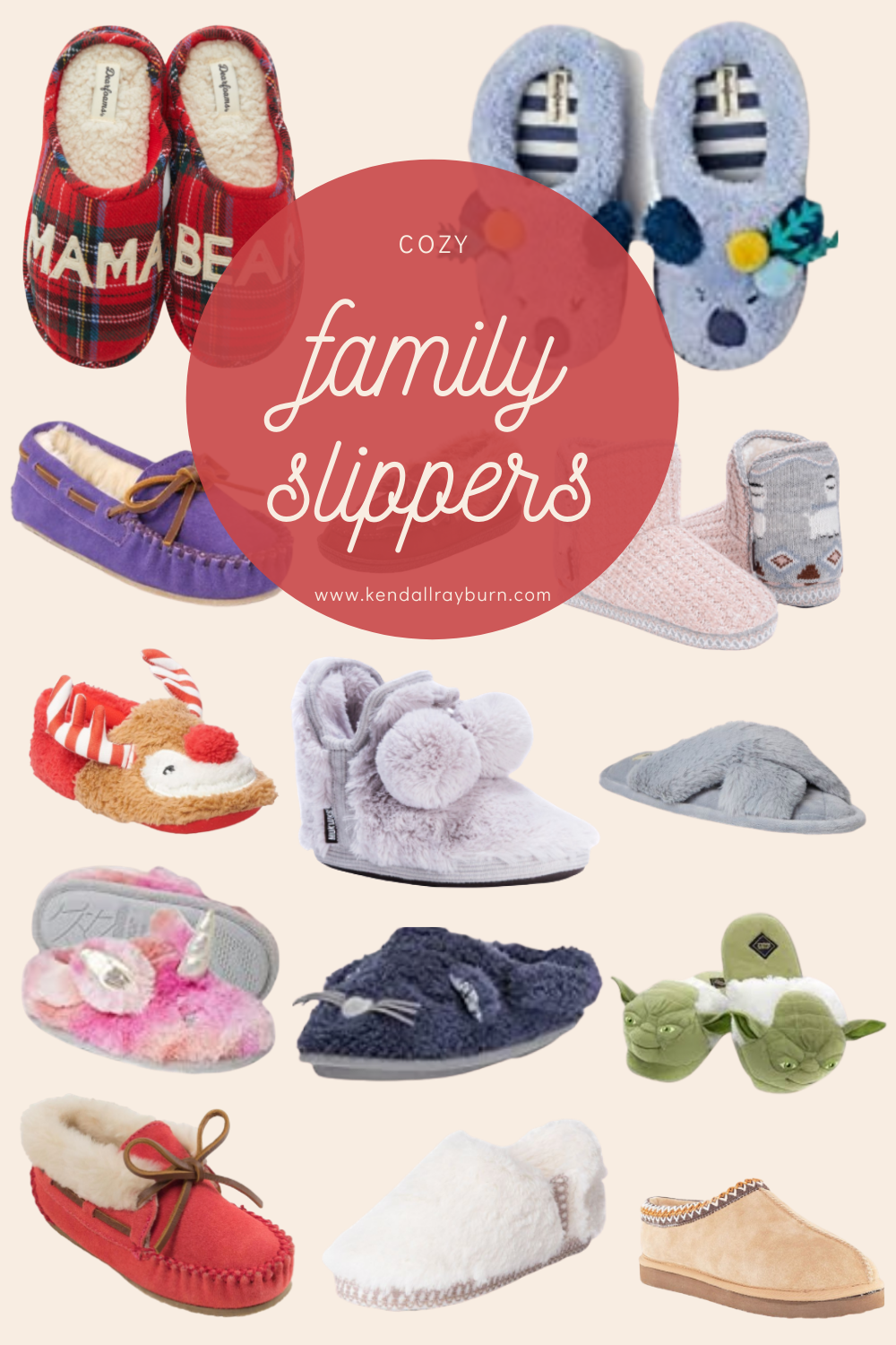 The Best Cozy Family Slippers